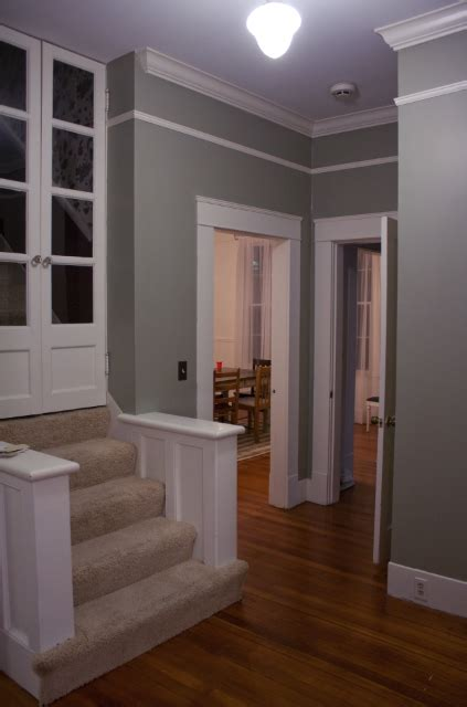 paint color nantucket gray nantucket gray by benjamin our accent wall color in the family room debating running