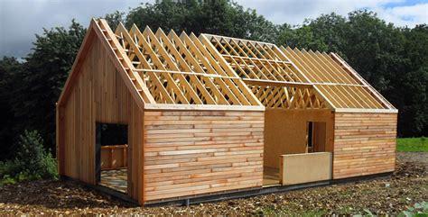 charpente maison ossature bois charpentes en ossature bois combles de maisons