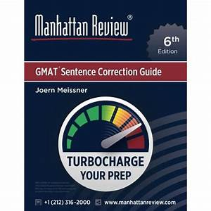 Manhattan Review Gmat Sentence Correction Guide  6th