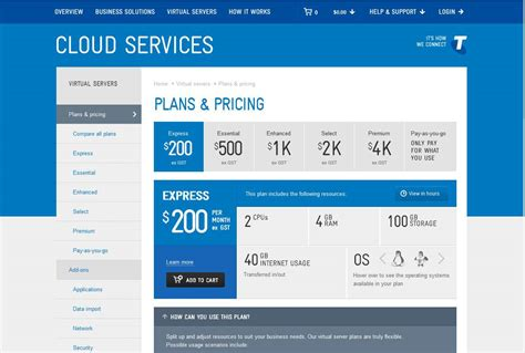 cloud portal telstra goes live with cloud portal and pricing