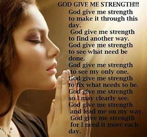 God give me the strength. | Fe | Pinterest