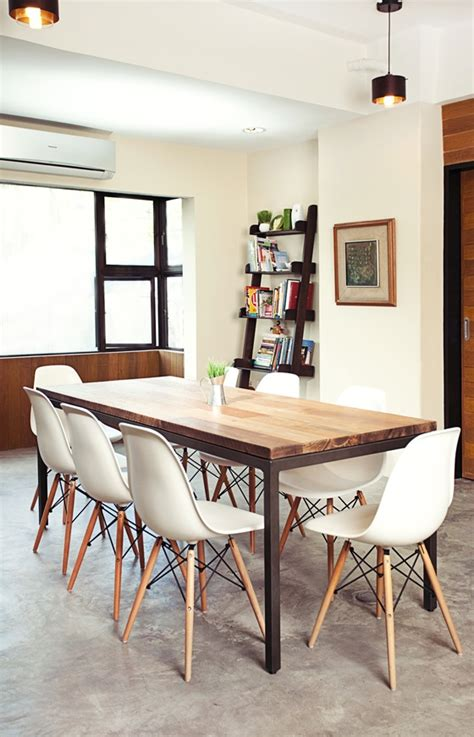 dining table with eames chairs metal projects