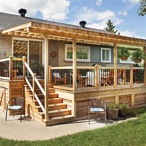 idee de patio en bois rallonge trois saisons pour le patio patio inspirations jardinage et ext 233 rieur pratico