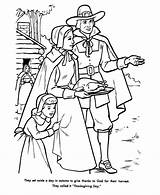 Coloring Thanksgiving Turkey Holiday Pilgrim Printable Pilgrims Pilgram Thanks Filminspector Printables Feast Lots Well Give Religious sketch template