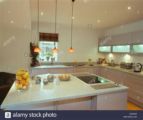 pendant lights above island pendant lights over island unit with halogen hob and