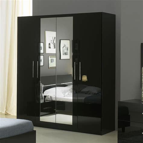 armoire design noire