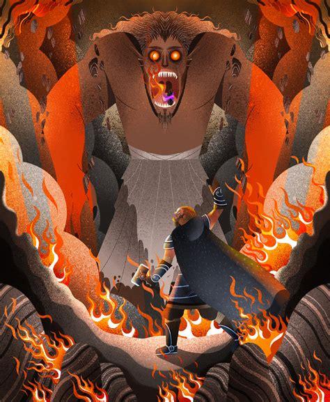 Norse Mythology for Kids on Behance