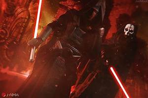 Darth Revan and Darth Nihilus by andrewhitc on DeviantArt