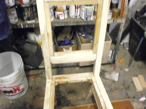 costruire una sedia come costruire una sedia antica