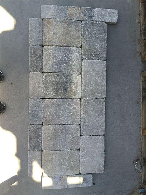 Use Cement Glue To Attach Pavers To Cinder Block Garden
