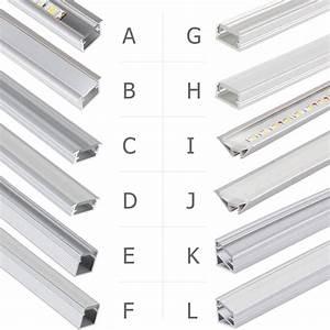 Led Profil Ecke : led aluprofil aluminium profile 2m 1m alu schiene leiste f r led streifen leucht ebay ~ Eleganceandgraceweddings.com Haus und Dekorationen