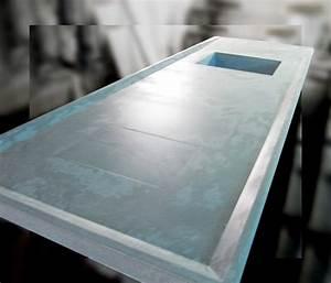 Faire Un Plan De Travail : vasque en beton pour jardin 20170923231842 ~ Dailycaller-alerts.com Idées de Décoration