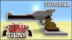 Minecraft: How to build A GUN! Wild West In Minecraft ...