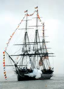 USS Constitution Ship Cannon