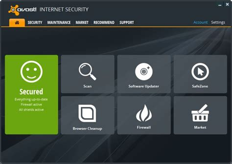Download Avast Internet Security V12.3.2279