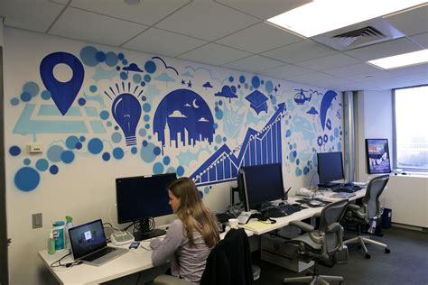 Wall Mural Ideas Office by Unique Office Murals Search Streamworks Walls