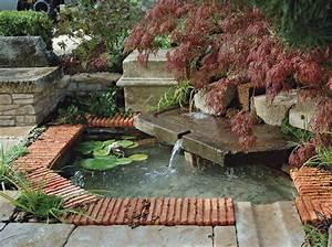 jardin comment creer un bassin paysage With amenagement jardin avec bassin 9 exotique paysage