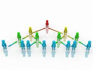 Het Concept Van De Organisatie Stock Illustratie