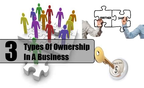 Types Of Ownership In A Business