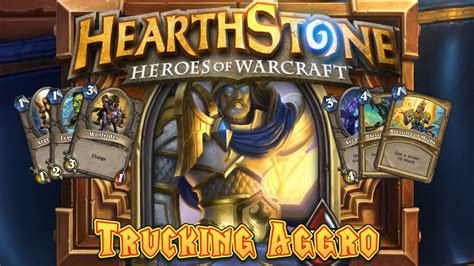 hearthstone aggro deck search results hearthstone deck spotlight trucking aggro pally