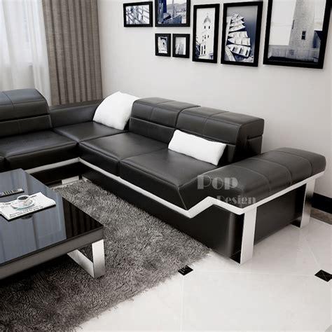 reparateur de canape cuir canapé d 39 angle en cuir design torino l pop design fr