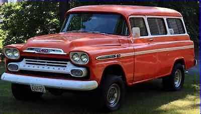 Chevrolet Suburban 1959 Cars For Sale