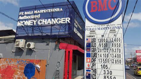 bureau de change argent argent banques et bureaux de change à bali lebaliblog