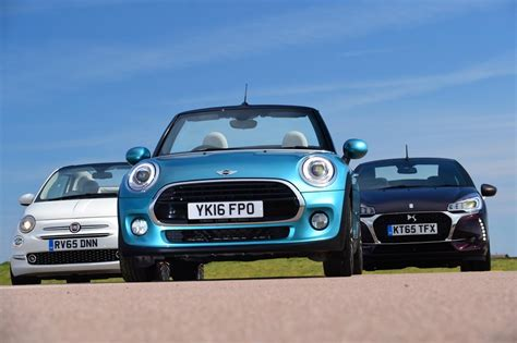 Mini Cooper Convertible Picture by Mini Cooper Convertible Vs Fiat 500c Vs Ds 3 Cabrio