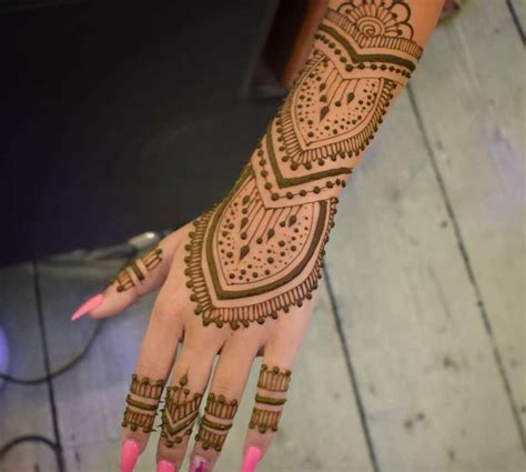 henna  long