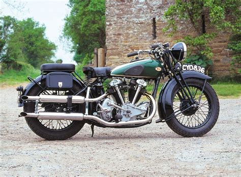 Bsa Made V Twin Motorcycles From The 1920s Through To 1940