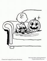 Snoopy Coloring Halloween Brown Charlie Peanuts Pumpkin Fall Sheets Printable Coloringhome sketch template