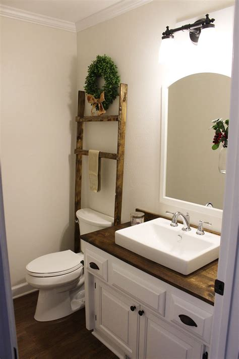 Modern Bathroom Budget by Budget Friendly Modern Farmhouse Half Bathroom Renovation