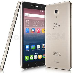 alcatel one touch pixi 4 6 8050d dual sim smartphone with 6 quot display gold ebay