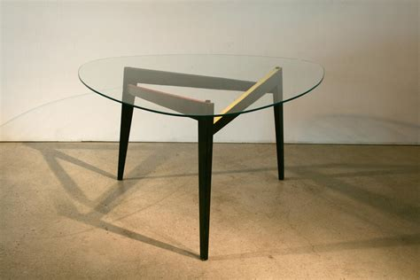 table glass for sale vintage italian triangular glass coffee table s for sale