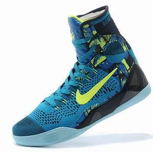 "Kobe 9 Elite High Top ""Perspective"" Neon from smalltutu"