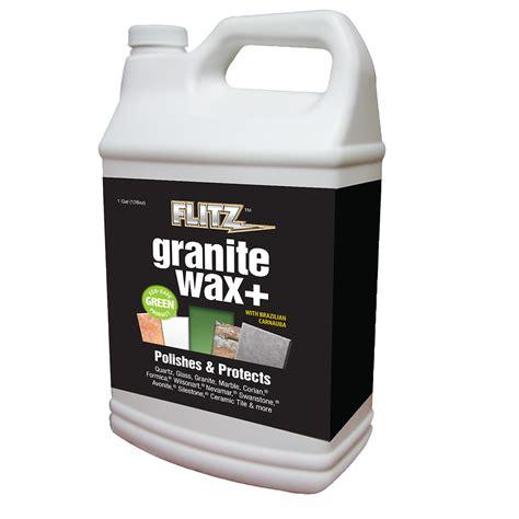 flitz granite waxx plus seal protect 1 gallon 128oz