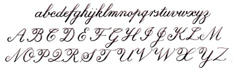 Calligraphy Alphabets  A Selection Of The Main Types