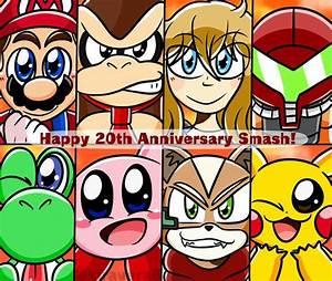 Undying Light Smash Ultimate Super Smash Bros 20th Anniversary By Kira Vera Nintendo