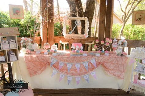 shabby chic tea decorations tea party girls birthday party shabby chic by lillianhopedesigns