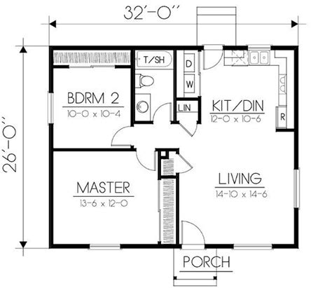 Image Result For 650 Square Foot 2 Bedroom House Plans
