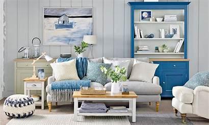 Living Coastal Rooms Decorating Kitchen Colour Space