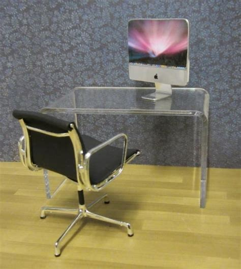 clear acrylic office chair uk choice of black acrylic minimalist tables miniatures