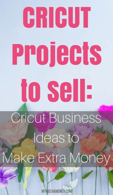 learn  cricut projects  sell  cricut business ideas