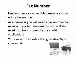 how to easily build business credit that39s not linked to With local places to fax documents