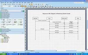 Sequence Uml Diagrams   Example  Understanding  U0026 Creating Them Using Microsoft Visio