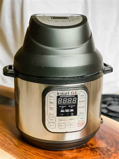 instant pot fryer lid air vs ninja foodi quart attachment accessory tablefortwoblog wrote previously since then happy