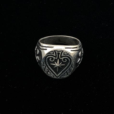 Solid Sterling Silver Shooting Star Ace Of Spades Mens
