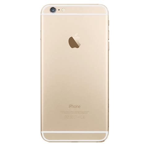 iphone back back cover apple iphone 6 gold without logo fixmobile