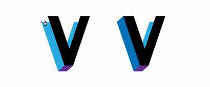 3d Letters Vector Create Illustrator Tools Adobe