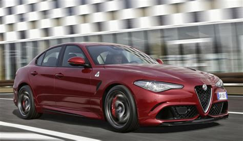 "Alfa Romeo Giulia Named ""most Beautiful Car"" Of 2016"